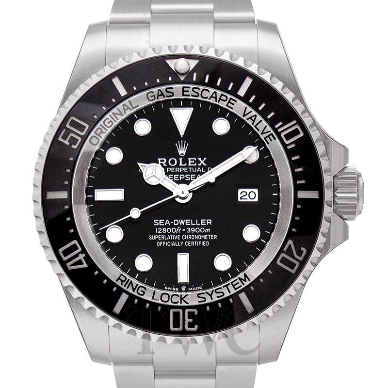 Rolex Sea-Dweller 126660, Silver Watch, Steel Watch, Unique Watch, Dive Watch, Water-resistant