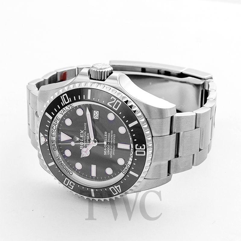 Rolex Sea-Dweller 126660, Distinct Watch, Steel Material, Black Dial, Bezel, Stylish Watch