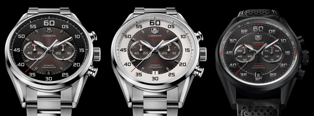 Carrera, Calibre 36 Flyback Chronograph