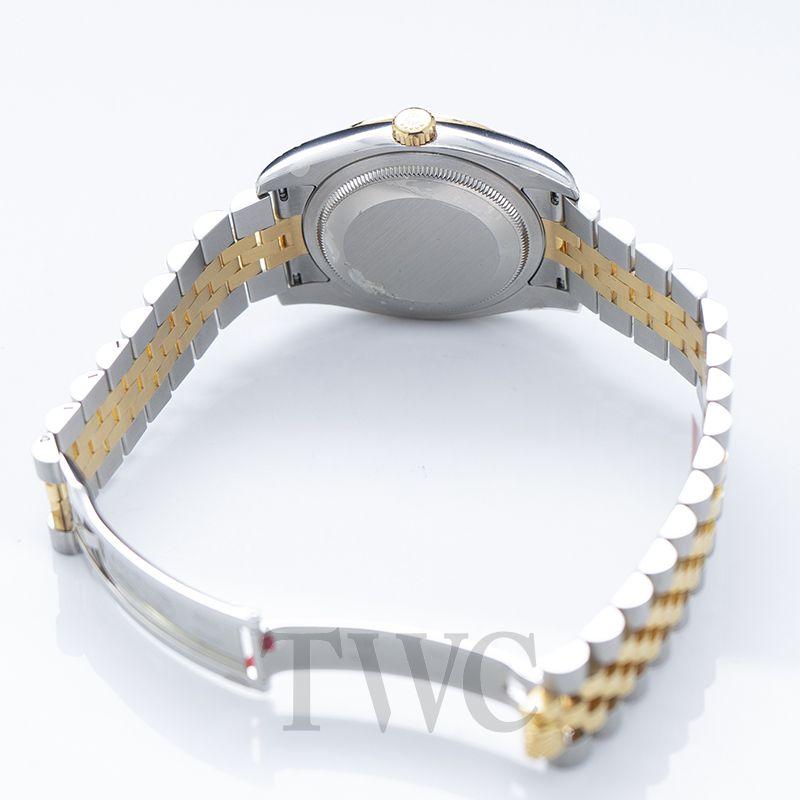 Rolex Datejust, Authenticity, Gold, Jewels, Case Back