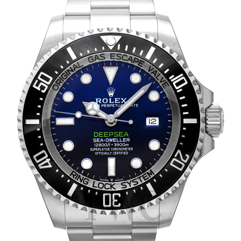 Rolex Deepsea D-Blue, Black Dial, Blue, Valve, Ring Lock, Dive Watch