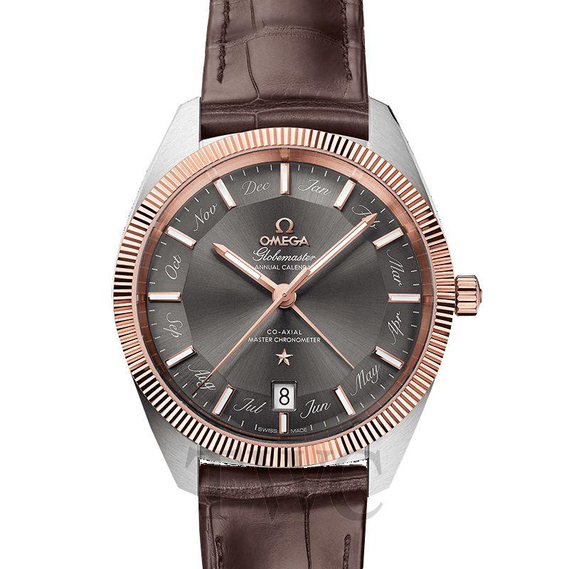 Omega Constellation Globemaster, Dress Watch, Brown, Exceptional, Tungsten