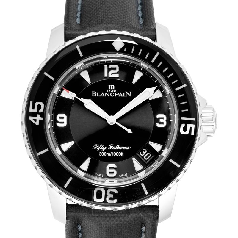 Blancpain Fifty Fathoms Automatique, Dive Watch, Black, Automatic, Waterproof