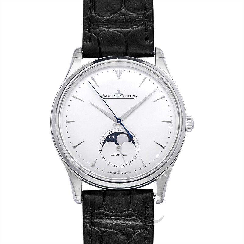 Jaeger LeCoultre Master Ultra Thin Moon, Dress Watch, Lunar, Automatic, Formal