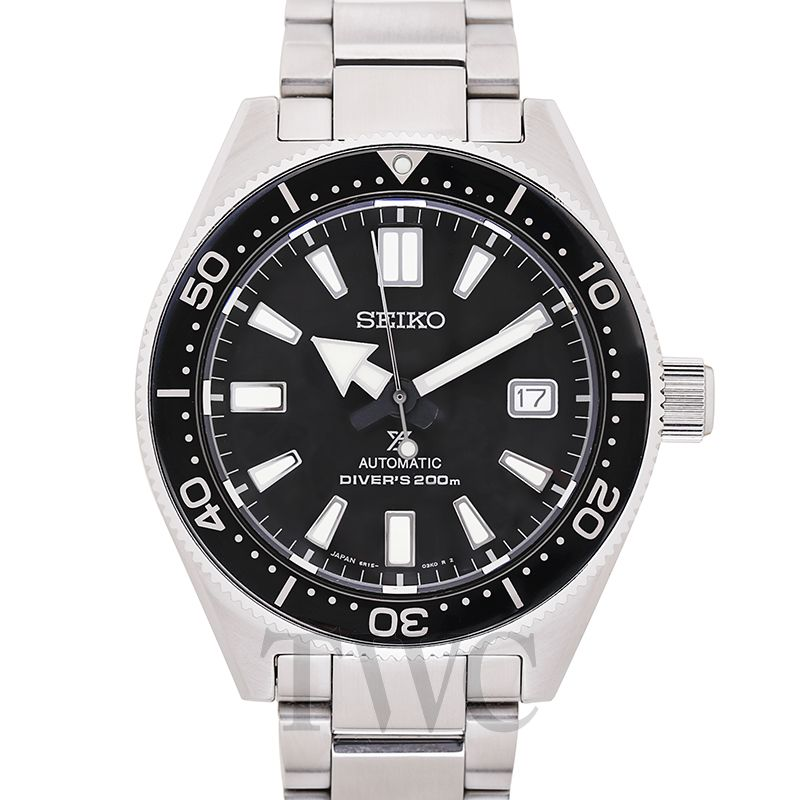 Seiko Prospex Sea, Dive Watch, Black, Lumibrite, Date Window