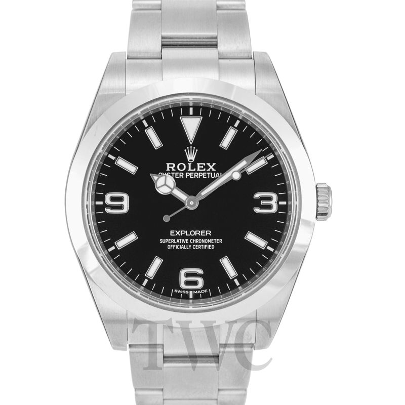 Rolex Explorer, Silver Watch, Steel Watch, Cheap Watch, Affordable Watch