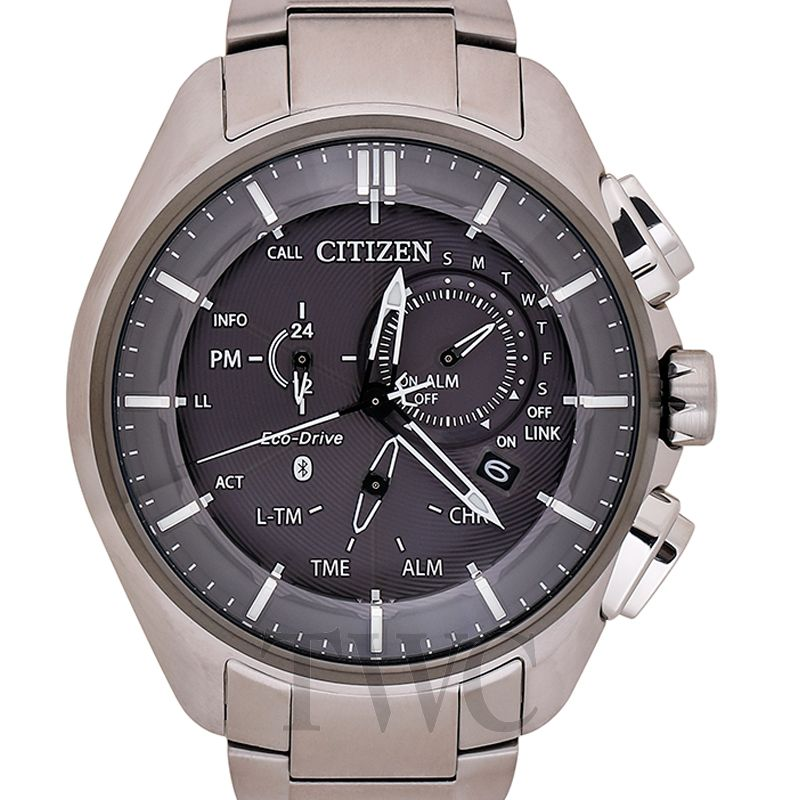 Citizen Watch, Japanese Watch Companies, Eco Drive Bluetooth BZ1041-57E, Eco-friendly Watch, Modern Watch