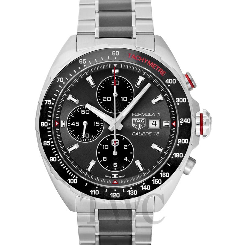 Tag Heuer Caliber 16 Formula 1 Racing Watch, Racing Watches, Chronograph, Tachymetre, Steel Watch, Swiss Watch