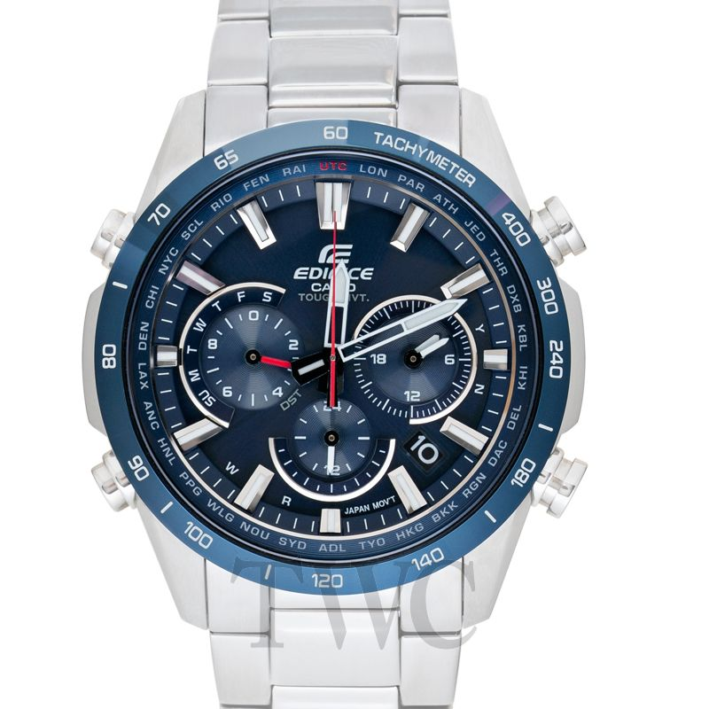 Casio Edifice EQW-T650DB-2AJF, Blue Watch, Modern Watch, Japanese Watch Companies, Solar Watch, Quartz Watch