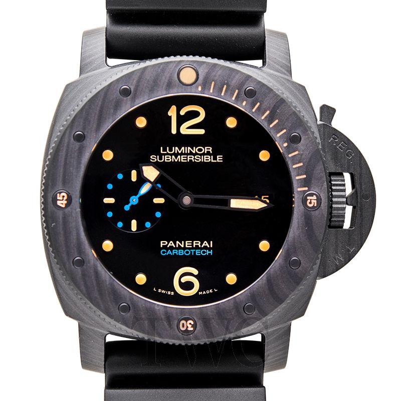 Panerai Lab-Id Luminor 1950 Carbotech 3 Days, Nanotube, Functional Watch, Grey Watch, Unique Watch
