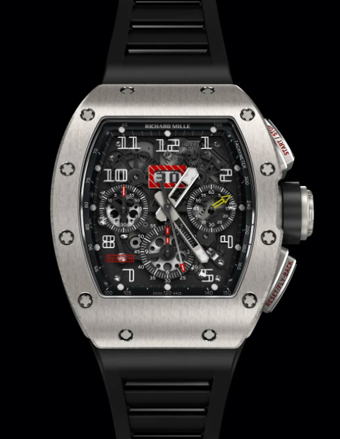 RM 011 Flyback Chronograph Watch, Sporty, Functional, Mechanical Watches