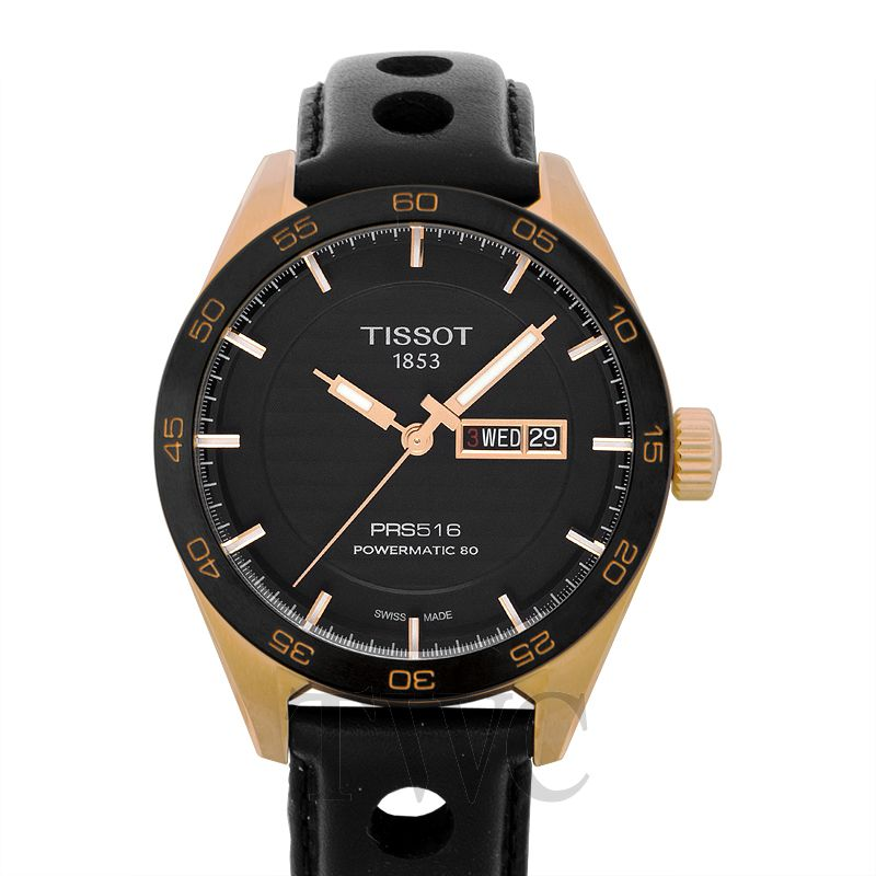 Tissot PRS 516 Stainless Steel Watch, Mechanical Watches, Elegant Watch, Sporty Watch Design, Automatic Watch