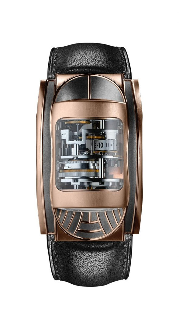 PFH340-1012700-HC3042 Rose Gold Parmigiani Bugatti, Racing Watches, Manual Winding Watch, Distinct Design