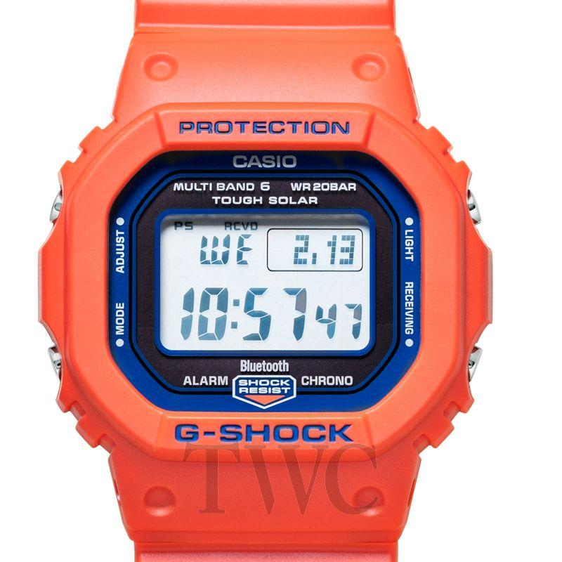 G-Shock, Mechanical Men's Watches, Orange Watch, DIgital Display, Solar Watch