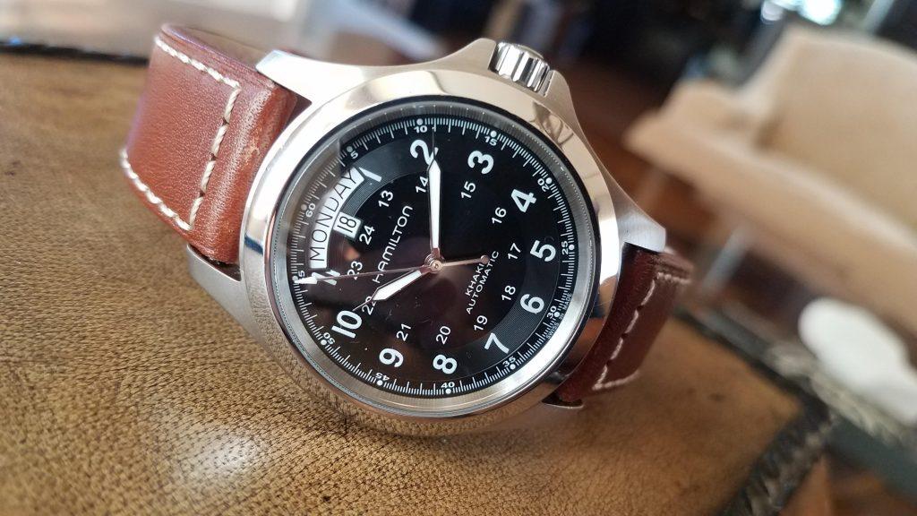 Hamilton Khaki King, Automatic Watches, Luxury Watch, Analogue Watch, Silver Bezel