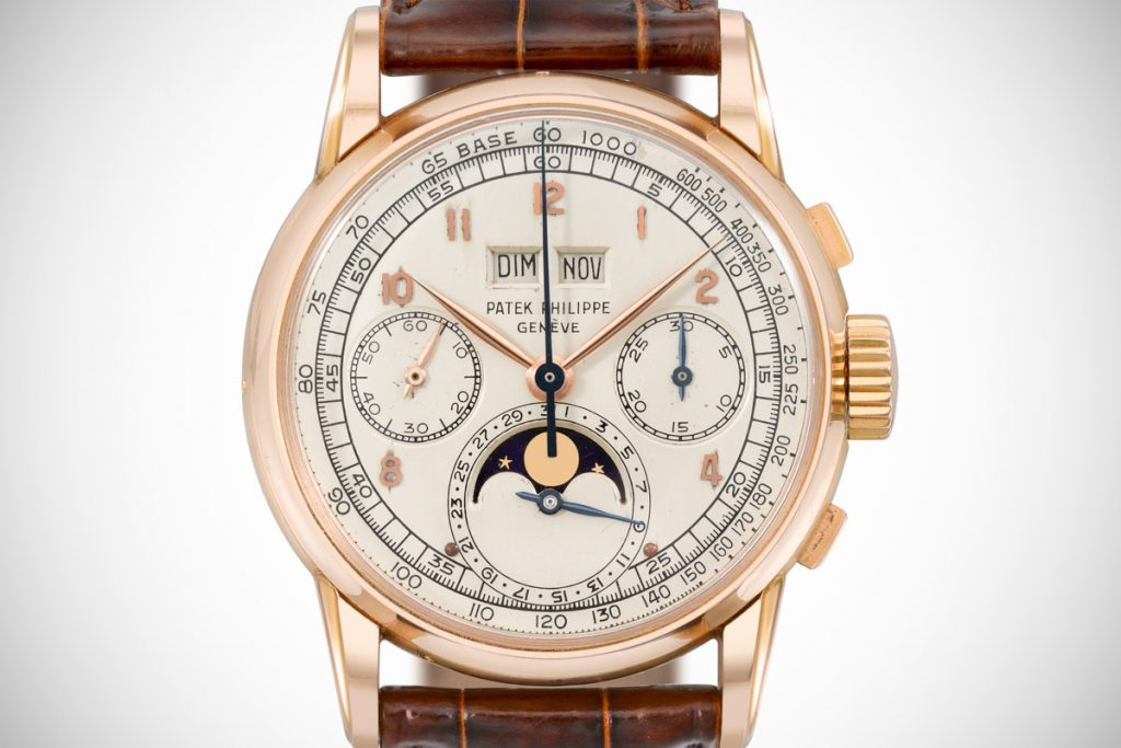Patek Philippe Perpetual Calendar Chronograph, Watch Complications