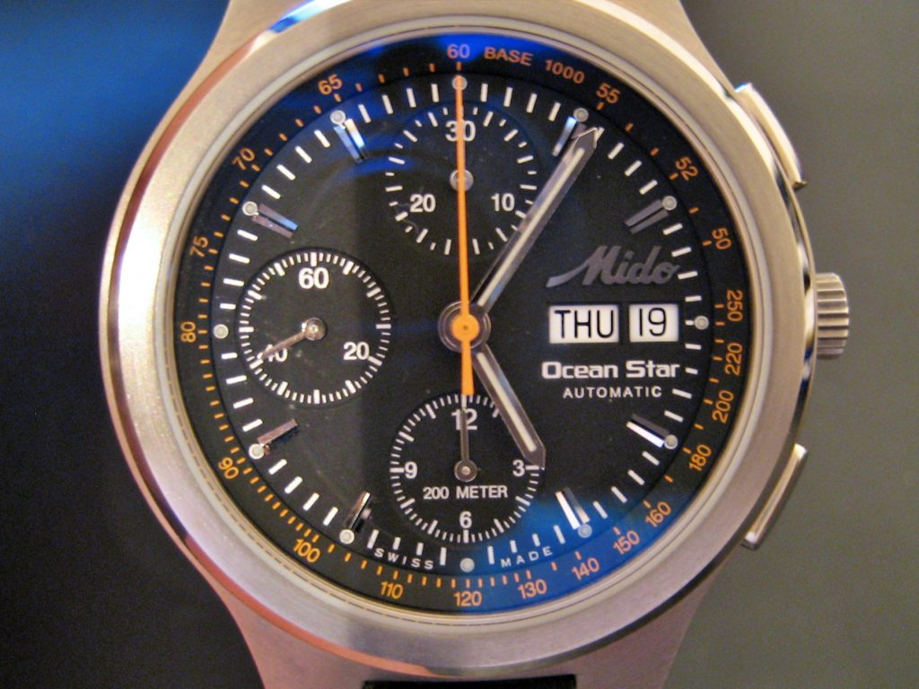 Mido Ocean Star Automatic, Tachymeter, Watch Complications
