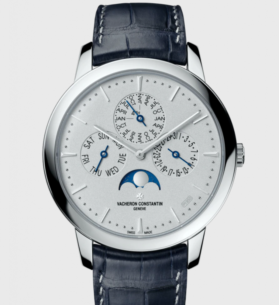 Vacheron Constantin Patrimony Perpetual Calendar, Best Automatic Watches, Swiss Watch, Leather Watch