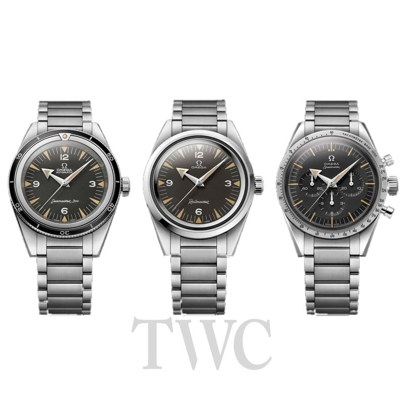 Omega Railmaster, Three Different Versions, Automatic Watches, Analogue Watches, Swiss Watches