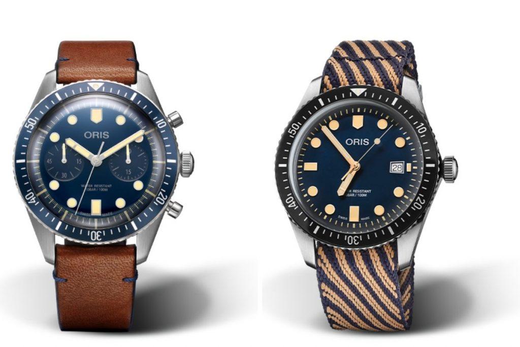 Oris Diver Sixty-Five, Oris, Retro, Bezel, Aluminium, Classic