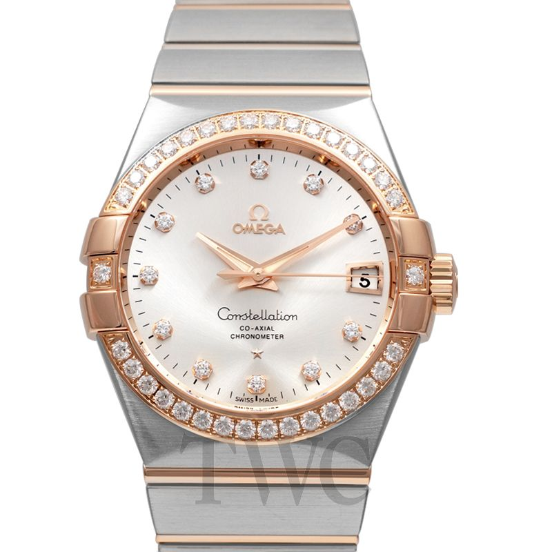 Omega Constellation Co-Axial Automatic, Luxury Watches, Diamond Watches, Swiss Watches, Date Display