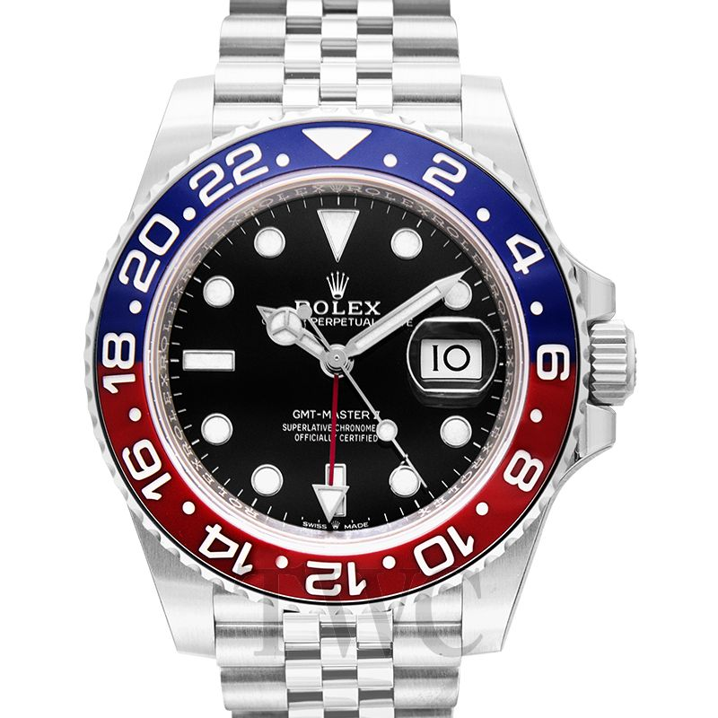 Rolex GMT Master II Pepsi, Watch Complications, GMT