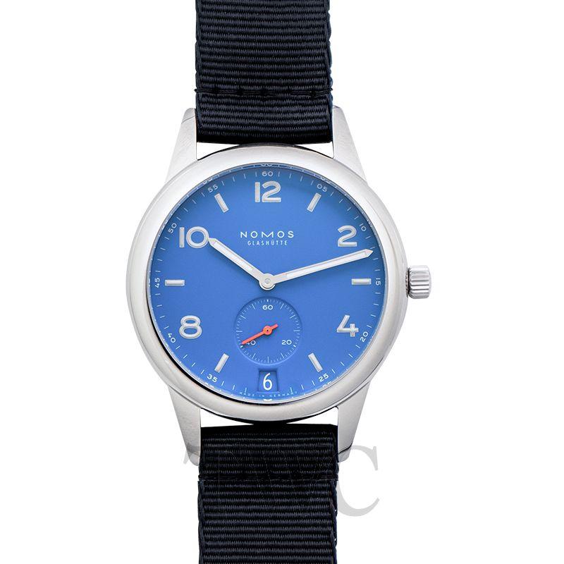 Nomos Club Auto Date Siren Blue, Dive Watch, Water-resistant Watch, Blue Watch, Functional Watch