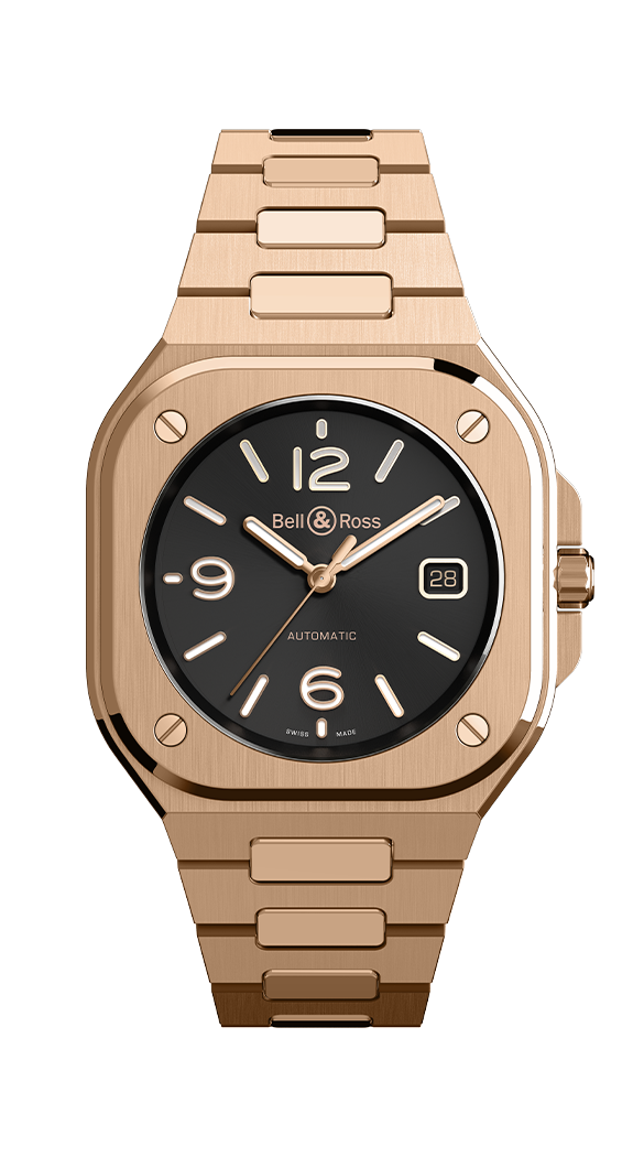 Bell & Ross BR 05 Gold, New Luxury Watches, Automatic Watch, Gold Watch