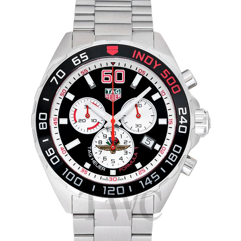 Tag Heuer Formula 1 Chronograph Limited Edition, Tag Heuer Formula 1 Watches, Racing Watch, Silver Watch, Swiss Watch