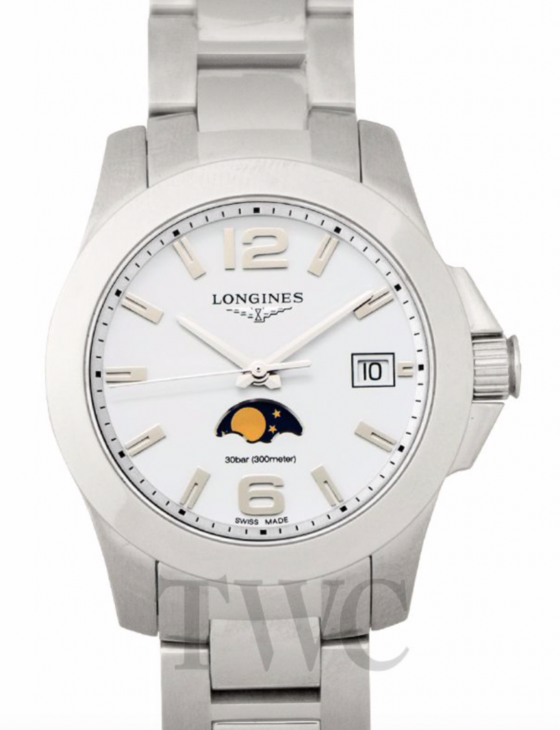 Longines Conquest Moonphase, Moon Phase Complication