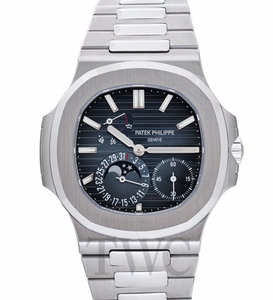 Patek Philippe Nautilus 5712/1A Moon Phase, Sapphire, Patek Philippe Nautilus Watches, Swiss Watch, Luxury Watch