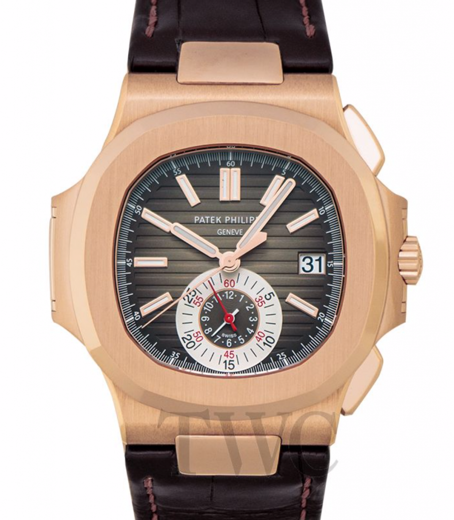 Patek Philippe Nautilus 59800R/001 Chronograph, Patek Philippe Nautilus Watches, Date Display, Alligator Strap, Swiss Watch