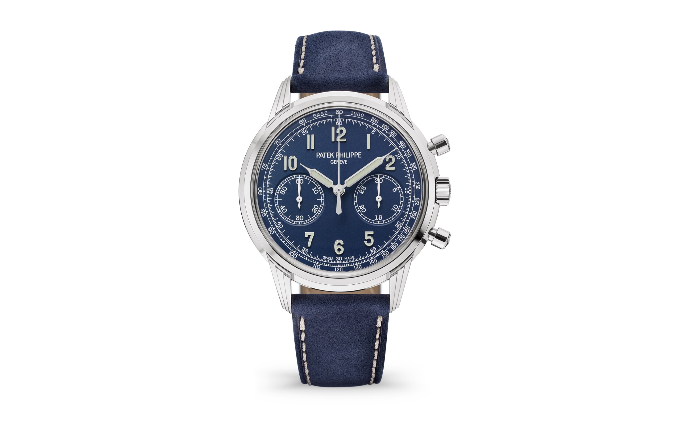 Patek Philippe Chronograph 5172G, Chronograph Watches, Automatic Watch, Leather Strap, Swiss Watch