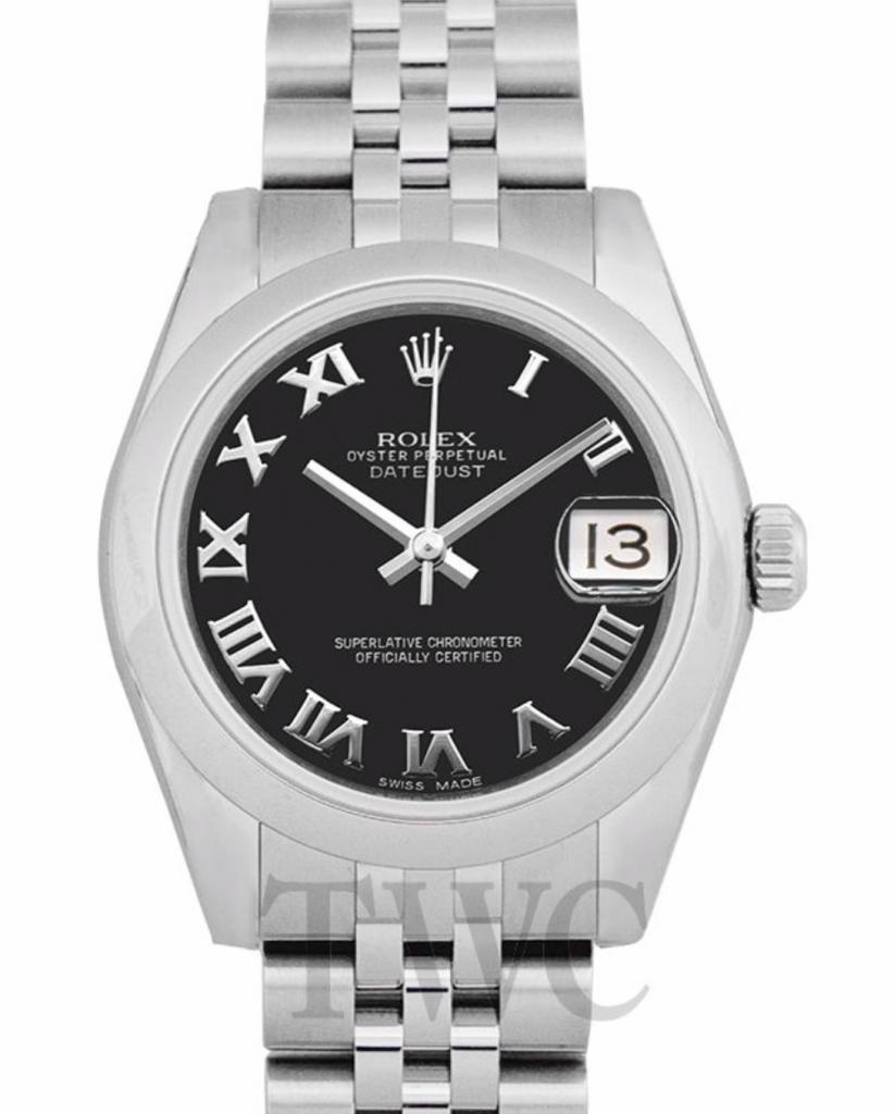 Rolex Datejust, Cheapest Rolex Watches For Women, Silver Watch, Date Display, Swiss Watch