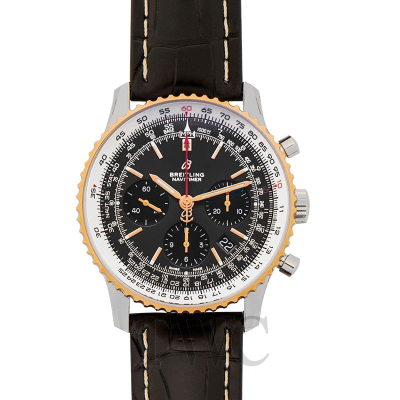 Breitling Navitimer Chronograph 43, Sapphire, Water-resistant, Automatic