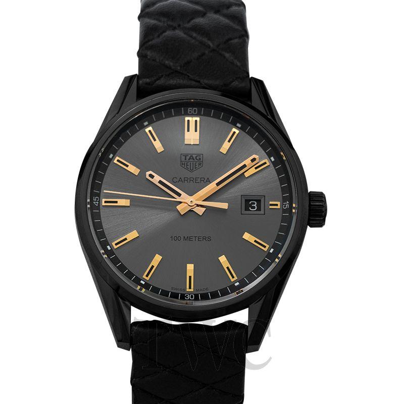 Tag Heuer Carrera, Women's Watch, Elegant Watch, Luxury Watch, Black Watch