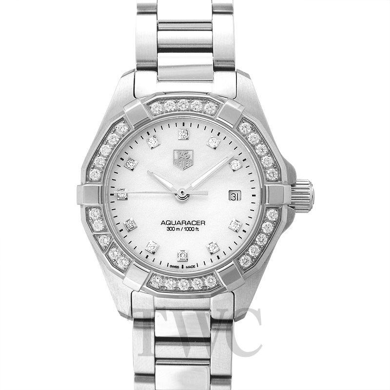 Tag Heuer Aquaracer Diamond, Steel Construction, Water-resistant Watch, Swiss Watch