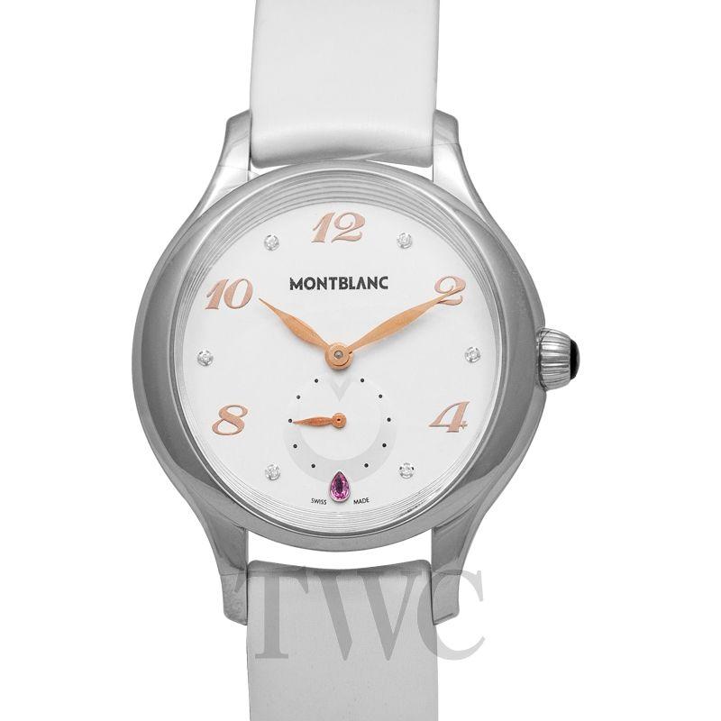 Montblanc Princesse Grace de Monaco, White Watches For Women, Swiss Watch, Luxury Watch, Silver Watch
