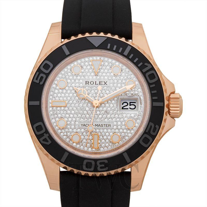 Rolex Yacht-Master Ref. 116655-0007, Diamond Watch, Jewellery Watch, Luxury Watch