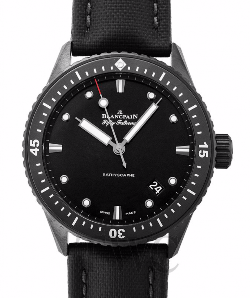 Blancpain Fifty Fathoms, Dive Watches