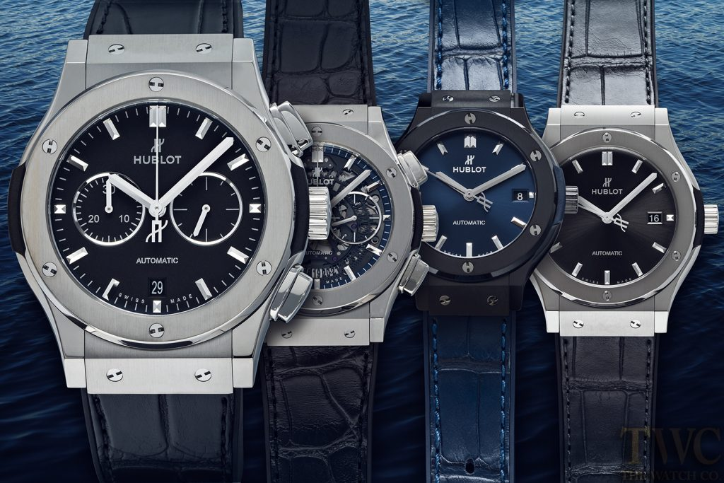 Hublot Classic Fusion Watches in Titanium and Ceramic
