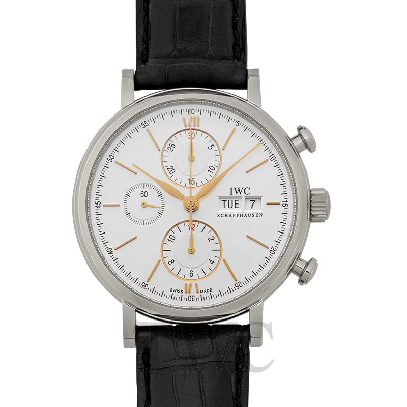 IWC Portofino IW391031, White Watch, Unique Watch, Professional Watch, Automatic Watch
