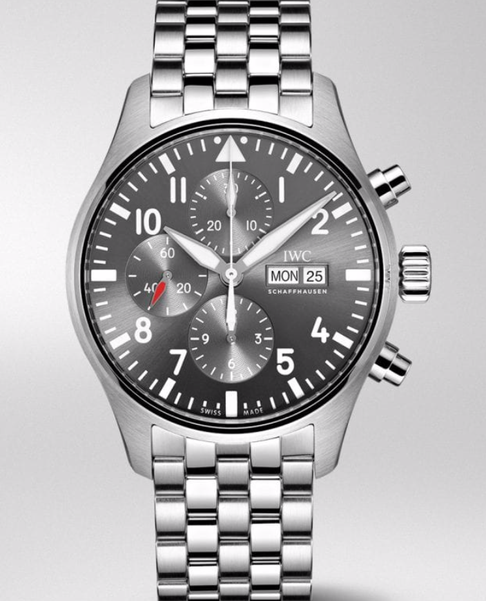IWC Pilot Chronograph Spitfire Stainless Steel