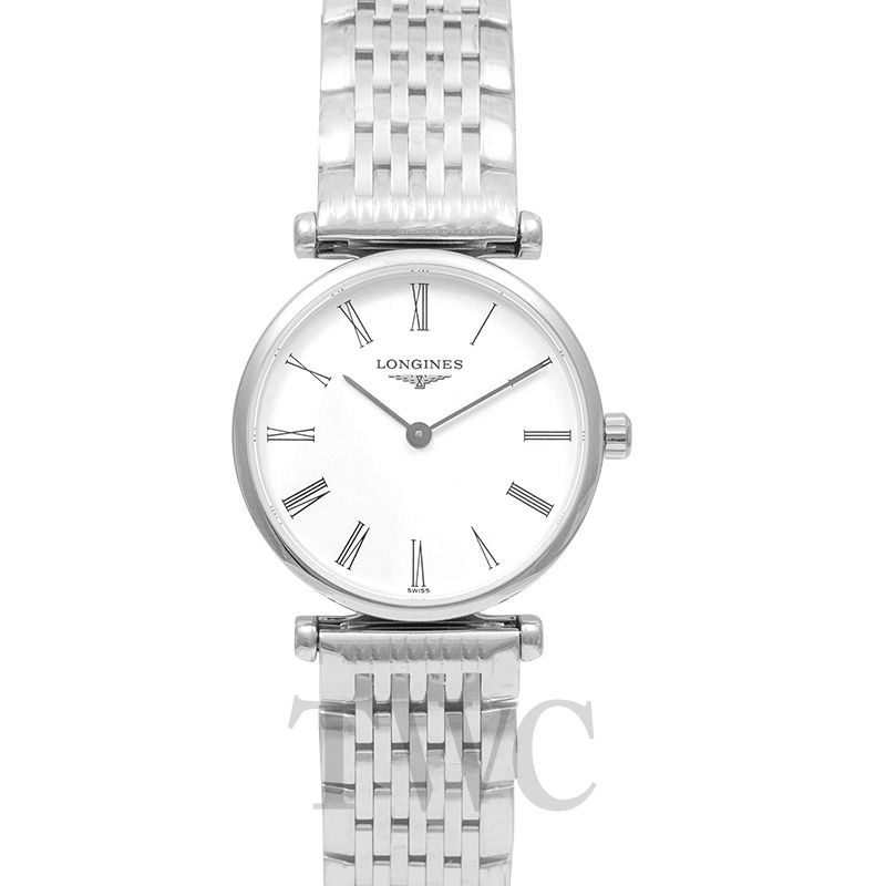 Longines La Grande Classique, Silver Watch, Steel Watch, Analogue Watches For Women