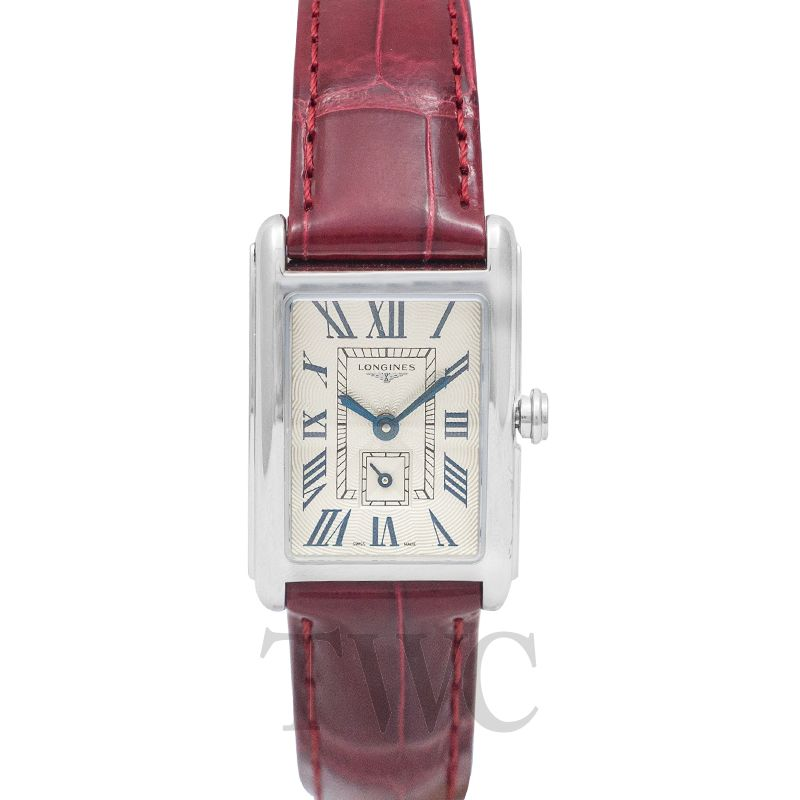 Longines DolceVita L52554715, Longines DolceVita Watches, Leather Watch, Swiss Watch, Luxury Watch