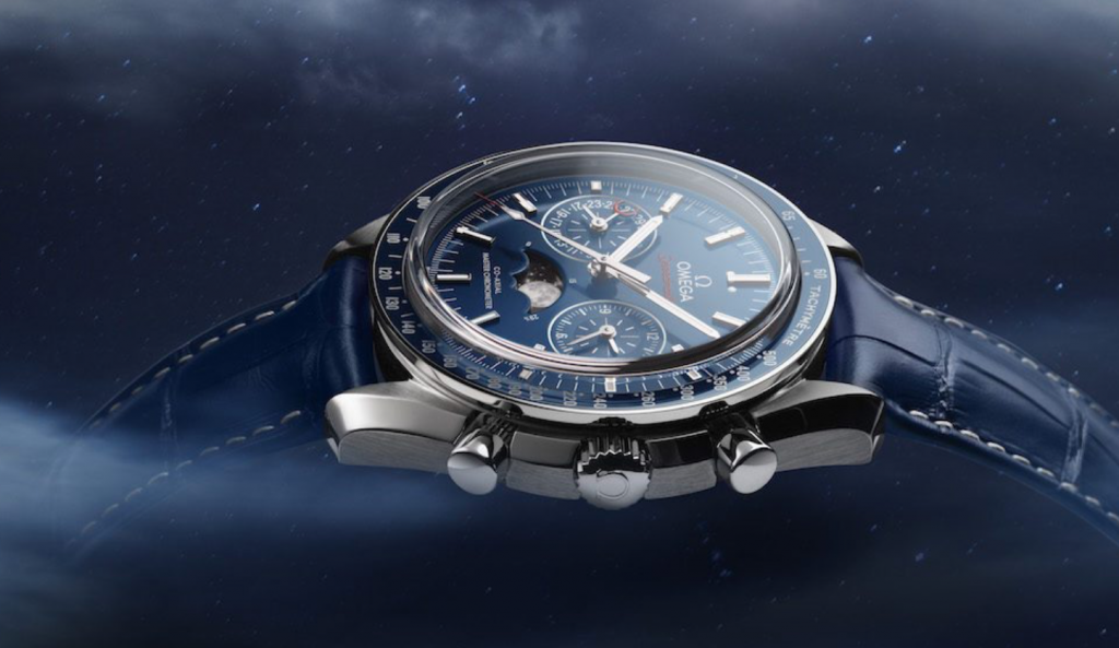 Omega Co-Axial Master Chronometer Moonphase Chronograph