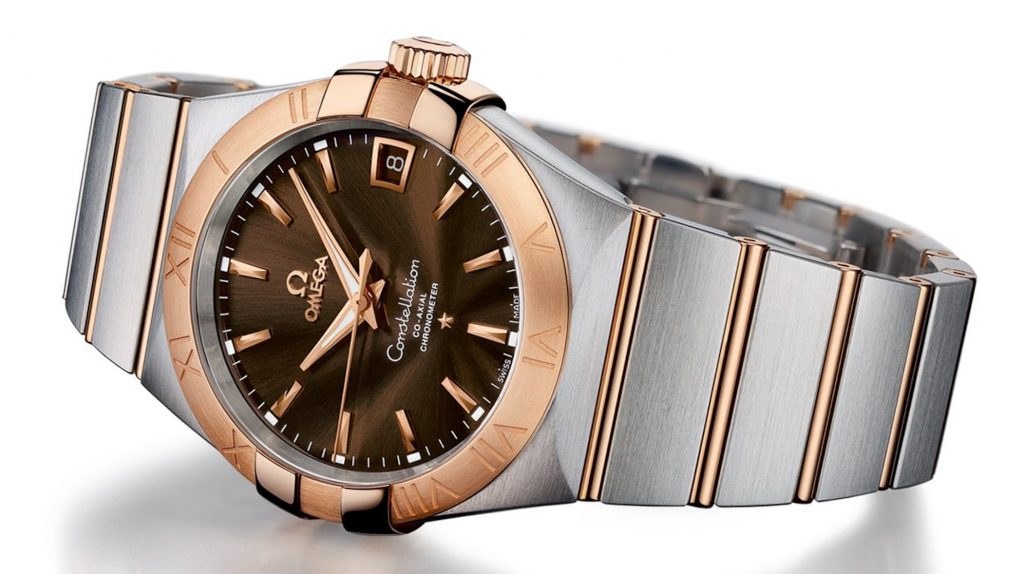 Omega Constellation Co-Axial Chronometer in Rose Gold