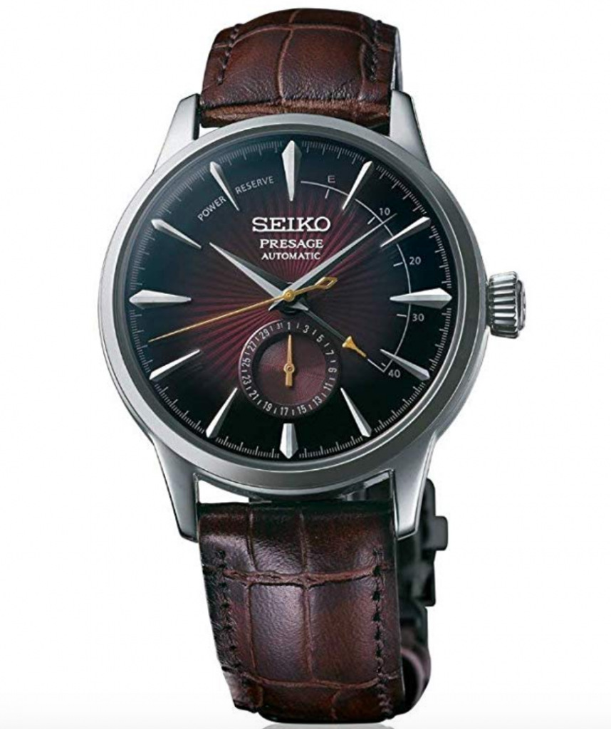 Seiko Presage Cocktail Time SSA393, Seiko Presage Cocktail Time, Japanese Watch, Leather Watch, Automatic Watch