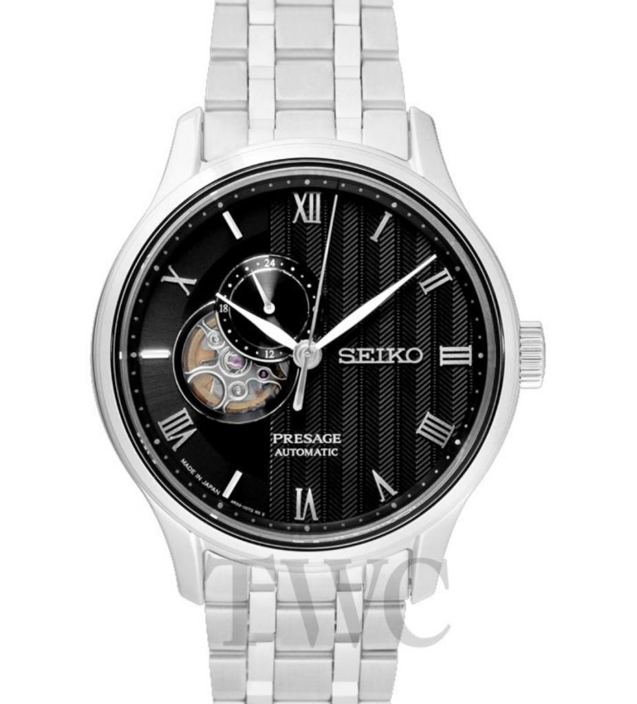 Seiko Presage SARY093, Seiko Presage Watches, Automatic Watch, Japanese Watch, Silver Watch