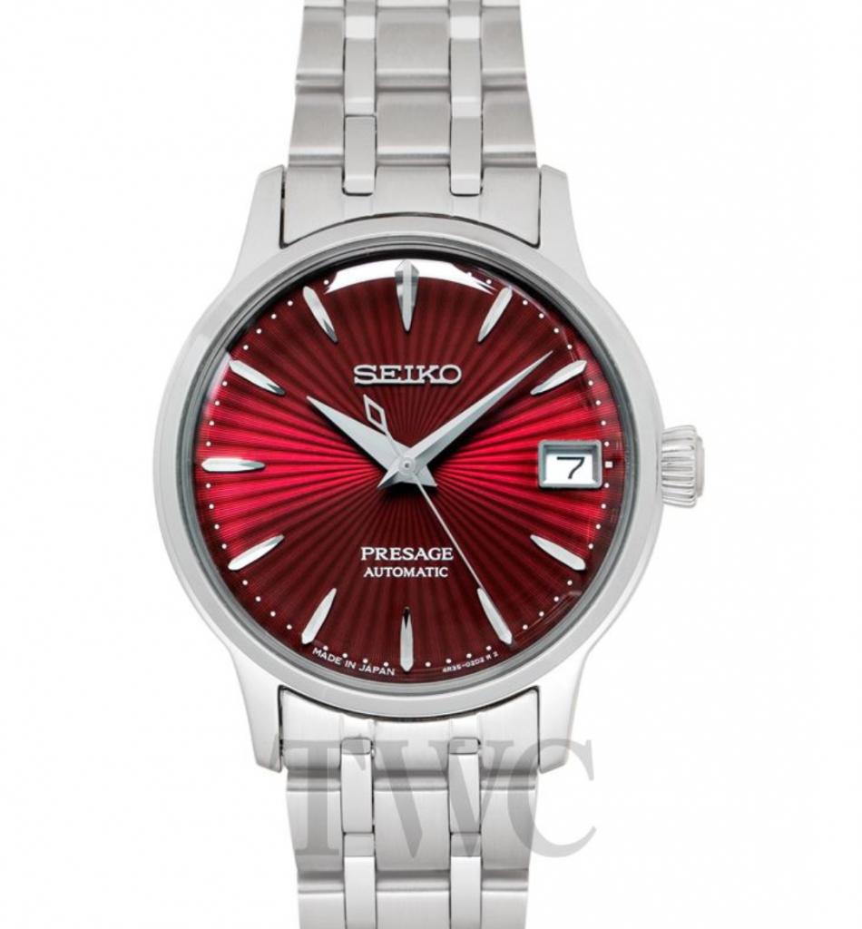 Seiko Presage SRRY027, Seiko Ladies Watches, Japanese Watch, Automatic Watch, Date Display